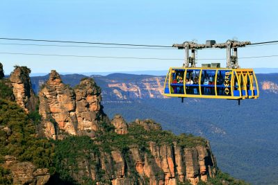 cableway ride blue mountains